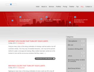 blog.websiteboston.com screenshot