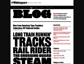 blog.webtype.com screenshot