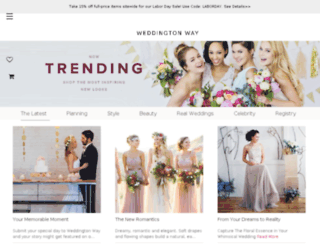 blog.weddingtonway.com screenshot