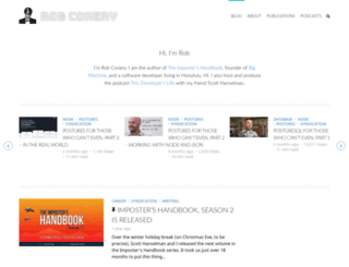blog.wekeroad.com screenshot