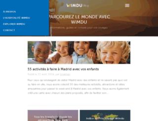 blog.wimdu.fr screenshot