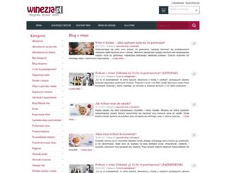 blog.winezja.pl screenshot