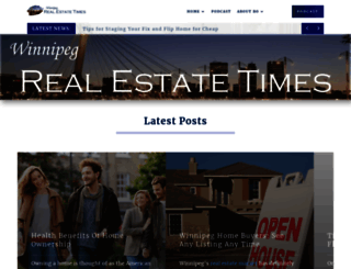 blog.winnipeghomefinder.com screenshot