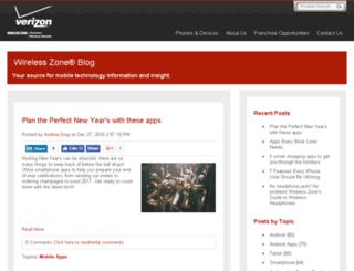 blog.wirelesszone.com screenshot
