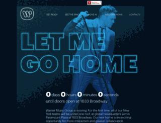 blog.wmg.com screenshot