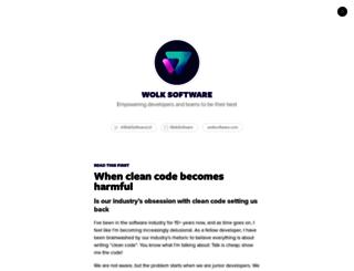 blog.wolksoftware.com screenshot