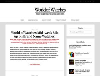 blog.worldofwatches.com screenshot