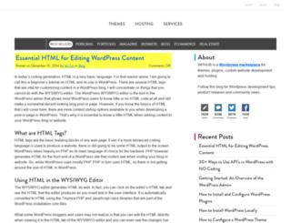 blog.wphub.com screenshot