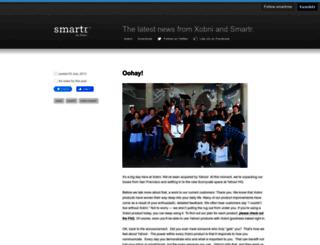 blog.xobni.com screenshot