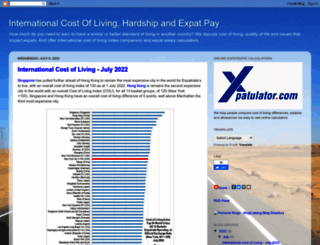blog.xpatulator.com screenshot
