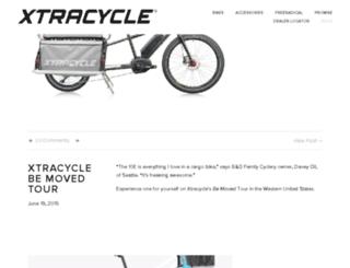 blog.xtracycle.com screenshot