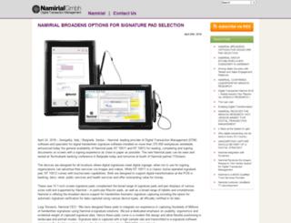 blog.xyzmo.com screenshot