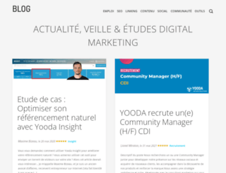 blog.yooda.com screenshot