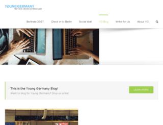 blog.young-germany.de screenshot