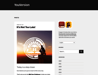 blog.youversion.com screenshot
