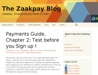 blog.zaakpay.com screenshot