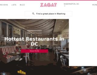 blog.zagat.com screenshot
