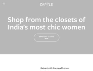 blog.zapyle.com screenshot