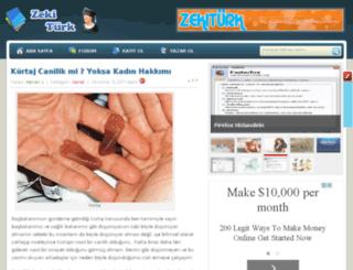 blog.zekiturk.com screenshot