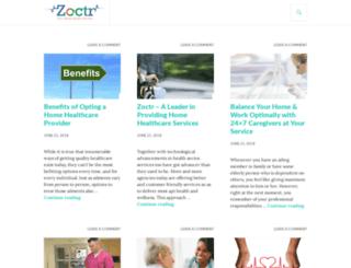 blog.zoctr.com screenshot