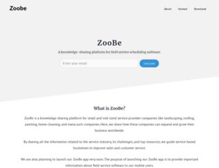 blog.zoobe.com screenshot