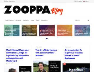 blog.zooppa.com screenshot