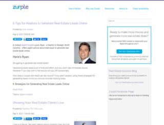 blog.zurple.com screenshot