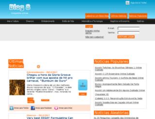blog8.com.br screenshot