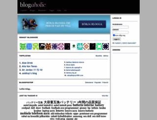 blogaholic.se screenshot