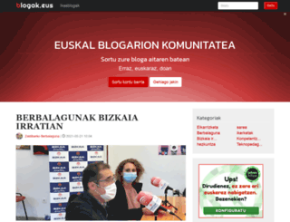 blogak.com screenshot