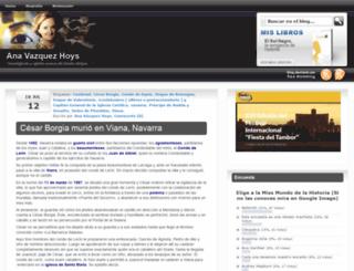 bloganavazquez.com screenshot
