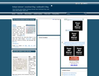 blogandhie.blogspot.com screenshot