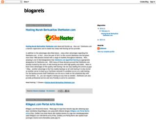 blogareis.blogspot.com screenshot