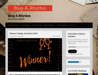 blogarhythmblog.wordpress.com screenshot