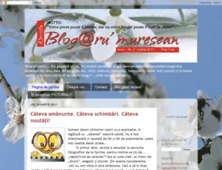 blogaru-muresean.blogspot.com screenshot