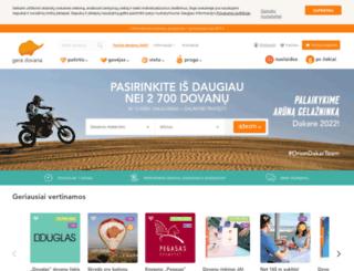 blogas.geradovana.lt screenshot