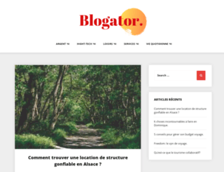 blogator.net screenshot