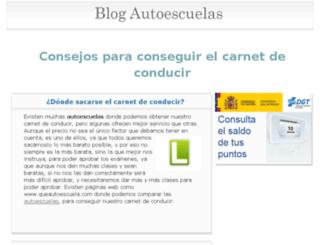 blogautoescuelas.info screenshot