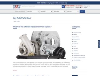 blogautoparts.com screenshot