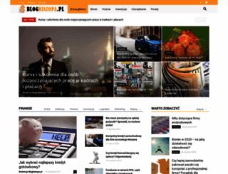 blogbiszopa.pl screenshot