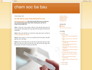 blogchamsocbabau.blogspot.com screenshot