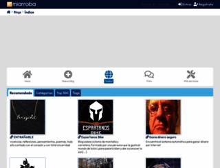blogcindario.com screenshot