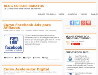 blogcursosbaratos.com.br screenshot