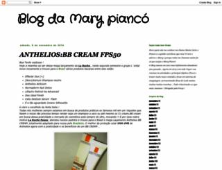 blogdamarypianco.blogspot.com.br screenshot