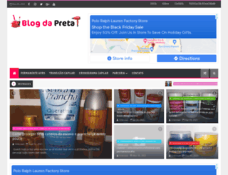 blogdapreta.com.br screenshot