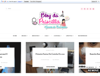 blogdapriscilla.com screenshot