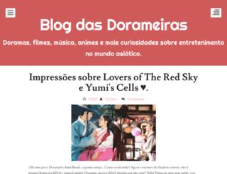blogdasdorameiras.blogspot.com.br screenshot
