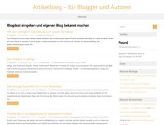 blogdeal.de screenshot
