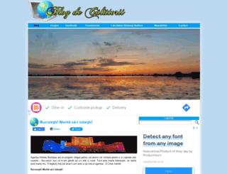 blogdecalatorii.ro screenshot