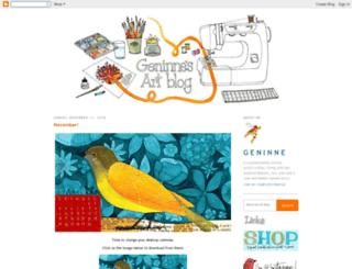 blogdelanine.blogspot.ro screenshot